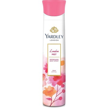 Yardley London - London Mist Refreshing Deo for Women, 150ml  Deo's & perfumes
