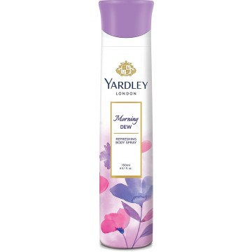 Yardley London - Morning Dew Refreshing Deo for Women, 150ml  Deo's & perfumes