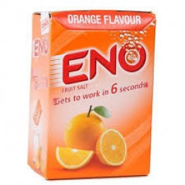 Eno Fruit Salt - Orange Flavor  5 gm Carton ( Pack of 30 ) Digestive Tablets & powders
