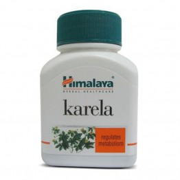 Himalaya Karela Capsules - Regulates Metabolism (250mg) Health Supplements