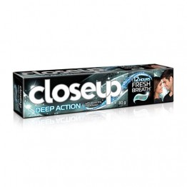Close Up Tooth Paste - Deep Action (Eucalyptus Mint) Toothpaste