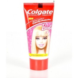 Colgate Toothpaste - Barbie (Strawberry Flavor for Kids) Toothpaste