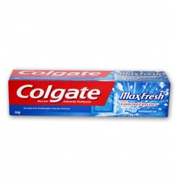 Colgate Toothpaste - Max Fresh Cooling Crystals Blue Gel  Toothpaste