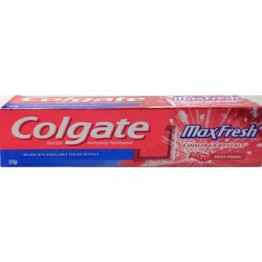 Colgate Toothpaste - Max Fresh Cooling Crystals Red Gel (Spicy Fresh) Toothpaste