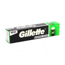 Gillette Shaving Cream - Lime Cream Foam and Gel