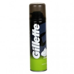 Gillette Shaving Foam - Lemon Lime Cream Foam and Gel