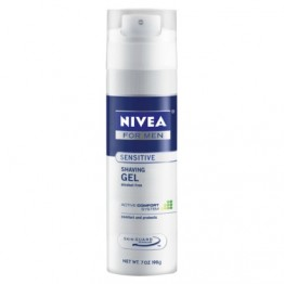 Nivea Shaving Gel - Sensitive for Men Cream Foam and Gel