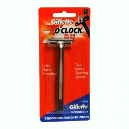 Gillette 7 O Clock Razor- Pii Blades and Razor
