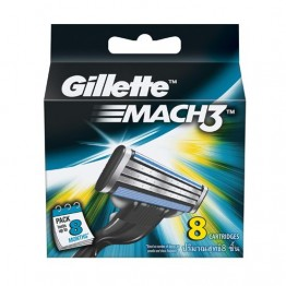 Gillette Mach 3 - Shaving Cartridges Blades and Razor