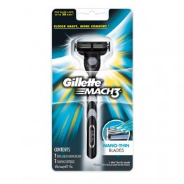 Gillette Mach 3 - Shaving Razor Blades and Razor