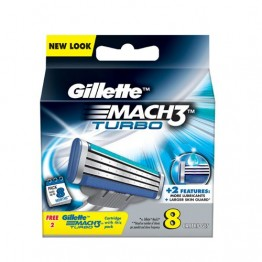 Gillette Mach 3 - Turbo Shaving Cartridges Blades and Razor