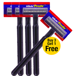 Gillette Presto - Disposable Razor offers