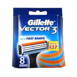 Gillette Vector3 - Cartridges Blades and Razor
