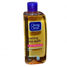 Clean & Clear Foaming Face Wash Face Wash