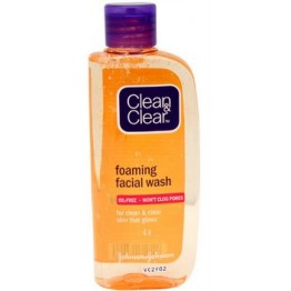 Clean & Clear Foaming Facial Face Wash Face Wash