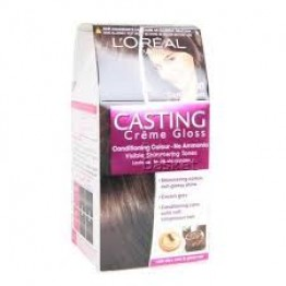 Loreal Paris Conditioning Hair Colour - Casting Creme Gloss (Dark Brown 400) Hair Color & Dye's