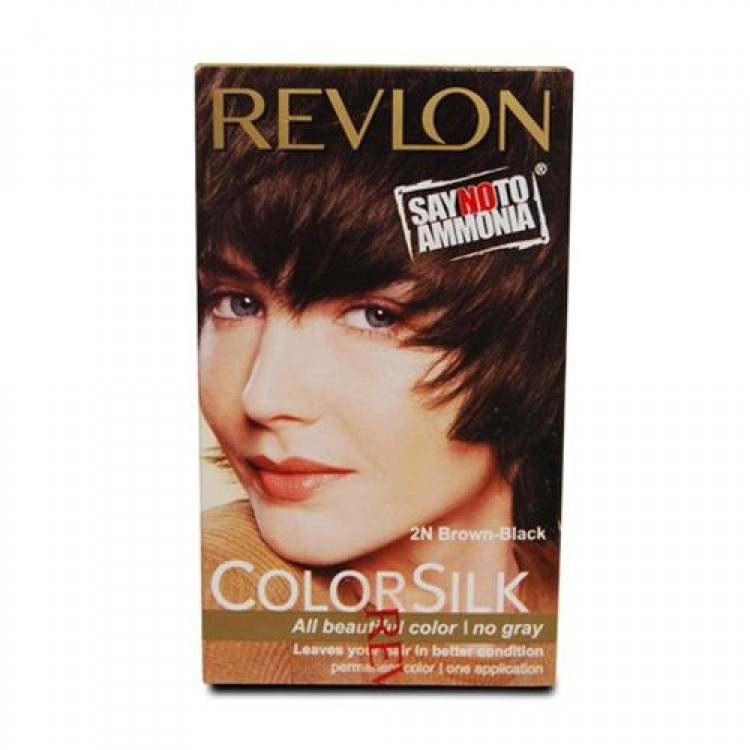 Revlon Colorsilk Haircolor Brown Black 2n