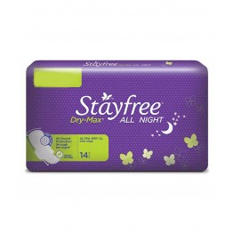Stayfree - All night XL Sanitary Needs