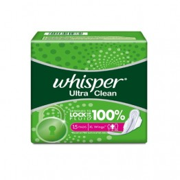 Whisper Sanitary Napkins - Ultra Clean XL Wings Sanitary Needs