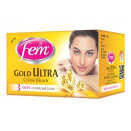 Fem Gold Ultra Cream Bleach, 30g  Skin Care