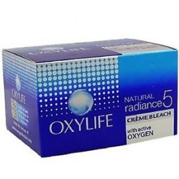 OxyLife Natural Radiance 5 Creme Bleach Skin Care