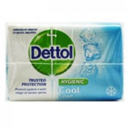 Dettol Bathing Soap - Cool Soaps Bars & Liquids