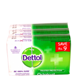 Dettol Bathing Soap - Original Soaps Bars & Liquids