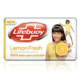 Lifebuoy Bathing Soap - Lemon Fresh Soaps Bars & Liquids