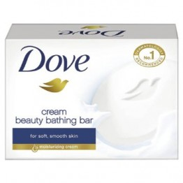 Dove Bathing Bar - Cream Beauty Soaps Bars & Liquids