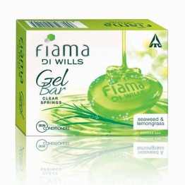 Fiama Di Wills Gel Bathing Bar - Clear Springs with Seaweed & Lemongrass Soaps Bars & Liquids