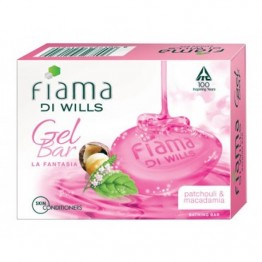 Fiama Di Wills Gel Soap - Patchouli & Macadamia La Fantasia Soaps Bars & Liquids