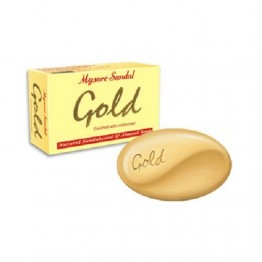 Mysore Sandal Bathing Soap - Gold Soaps Bars & Liquids