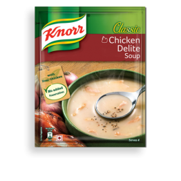 Knorr chicken delight soup Ready to Cook